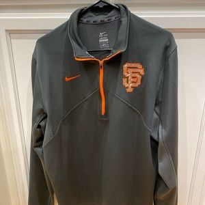 San Francisco Giants Nike Pullover